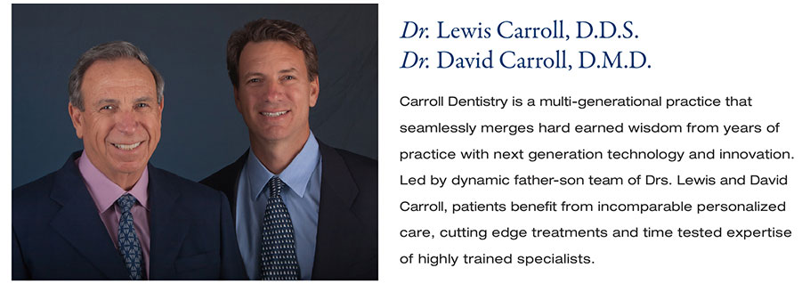 Dr. Lewis and Dr. David Carroll